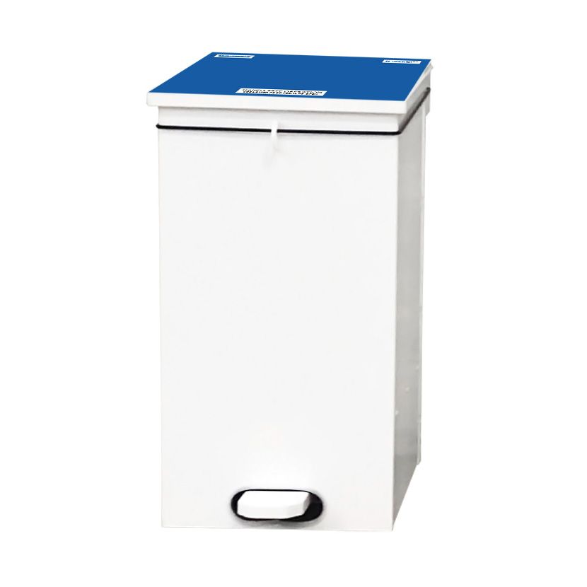 Soft Close Bin Blue