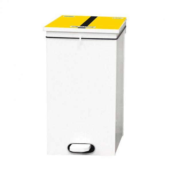 Soft Close Bin Yellow Black