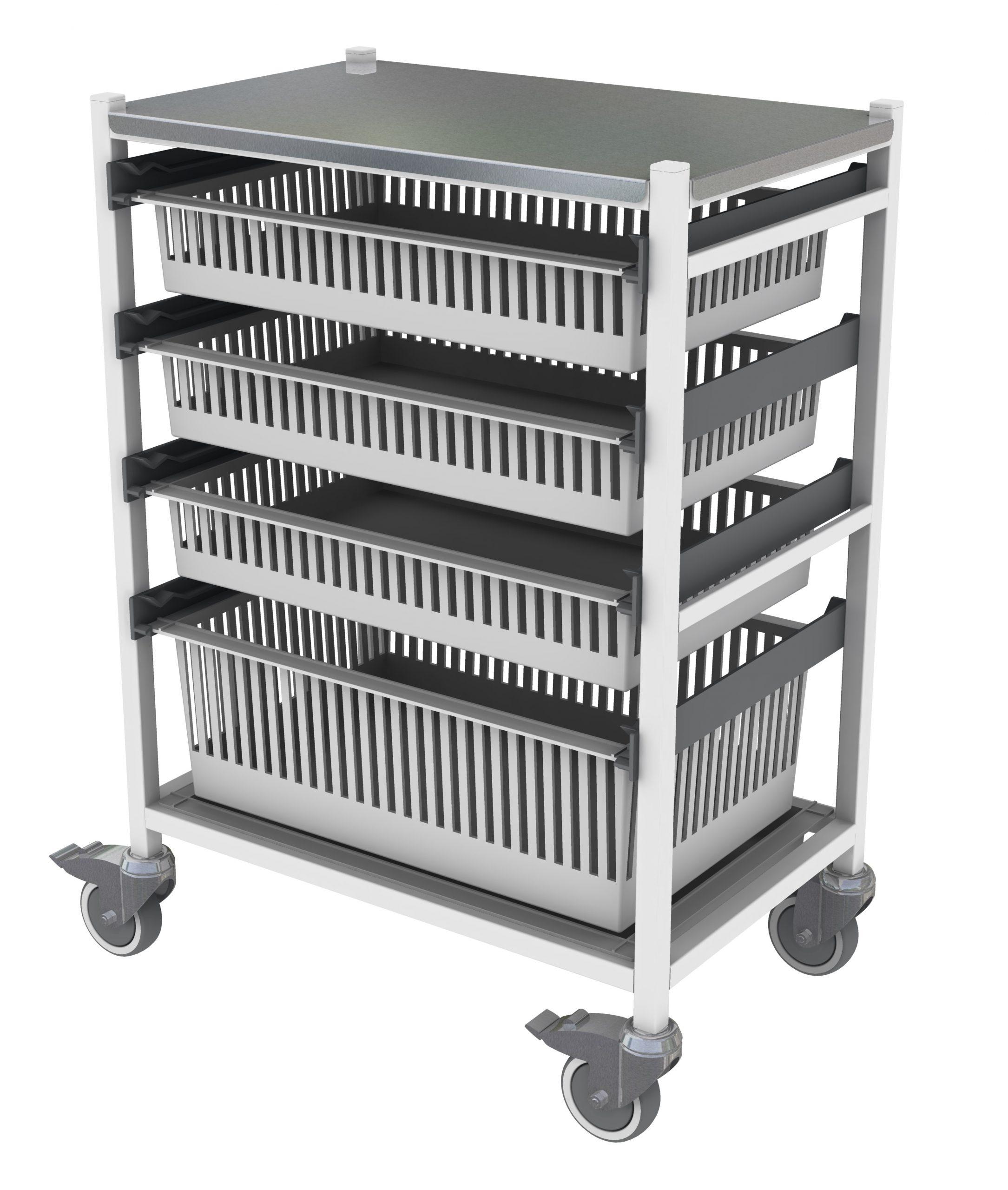 Medical Storage Trolley